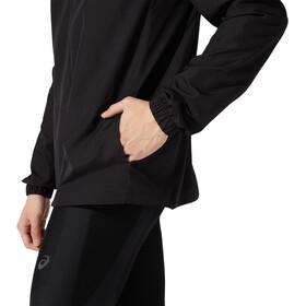 asics SMSB Run Jacket Men, zwart/grijs